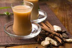Имбирный чай с молоком / Простые рецепты