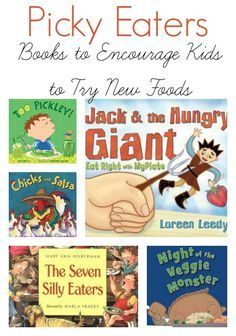 Help picky eaters discover new foods with these books for kids.
