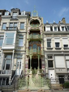 Brussels, Belgium  Gustave Strauven, architect