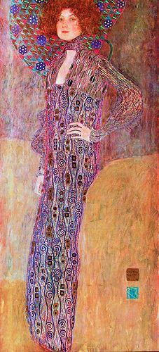 Portrait of Emilie Floge by Klimt, 1902 Gustav Klimt, Klimt Art, Artist Painting, Figure Painting, Artist Art, Art Nouveau, Claude Monet, Famous Artists, Oeuvre D'art