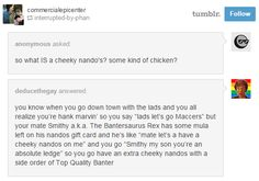 Americans on the internet are getting frustrated trying to find out the meaning of a 'Cheeky Nando's'. Why is it so cheeky? See story now!