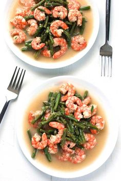 Shrimp & Asparagus Stir Fry - Whole 30
