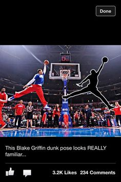 Blake Griffin Dunk looks Familiar!