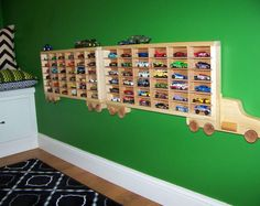 Personalized Hot Wheels Storage Rig