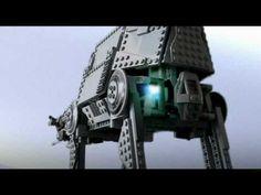 Recreación de la épica Batalla de Hoth de Star Wars con LEGO