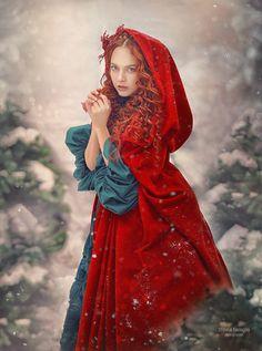 Photography Journal, Fantasy Photography, Winter Photography, Photography Women, Photography Ideas, Disney Princess Art, Princess Photo, Little Red Ridding Hood, Red Riding Hood