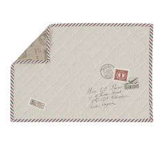 Placemats Postal Express. (Clayre-eef.nl)