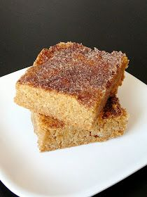 Baked Perfection: Snickerdoodle Blondies