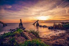 Sunset at Marken by Renso Profijt