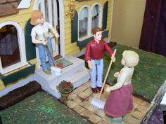 Joanne's Minis: Dollhouse Miniature Push Broom
