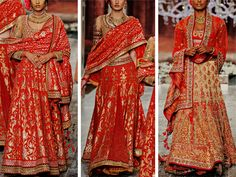 """Tarun Tahiliani's """"Last Dance of the Courtesan"""" with Swarovksi Crystals at India Couture Week 2016"""