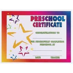 preschool graduation certificate template фотоальбом pinterest