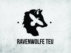 Create A Supernatural Paranormal Logo for a Business by Kaplar Negative Space Tattoo, Raven Logo, Wolf's Head, Wolf Tattoos, Tatoos, Wolf Face, Business Logo Design, Custom Logo Design, Logo Design Contest