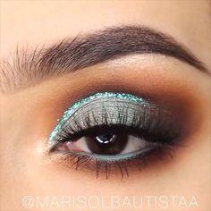 BEAUTIFUL EYE MAKEUP LOOKS - #Beautiful #eye #makeup #EyeMakeupGlitter Eye Makeup Designs, Eye Makeup Tips, Makeup Videos, Makeup Inspo, Makeup Inspiration, Beauty Makeup, Makeup Products, Beautiful Eye Makeup, Beautiful Eyes