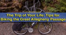 Thinking of biking the Great Allegheny Passage in southwestern Pennsylvania? Check out my top tips for riding the GAP trail based on my riding experiences. Westmoreland County, George Morris, Horse Training Tips, Horse Tips, Equestrian Problems, Bike Path, Commuter Bike, Cycling Workout, Trail Riding
