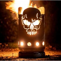 small fire barrel skull made from a gas bottle JMFire little . - small fire barrel skull made from a gas bottle JMFire small fire barrel skull This image has get 58 - Welding Crafts, Welding Projects, Metal Crafts, Backyard Sheds, Fire Pit Backyard, Fire Pit Grill, Fire Pits, Plasma Cutter Art, Truck Covers