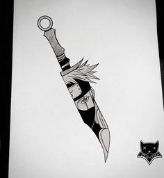 Kakashi ° Naruto ° Adaga ° Kunai ° Tatuagens ° Tattoo ° Tatuagem ° Desenho ° Desenhos ° Flash Arte - Care - Skin care , beauty ideas and skin care tips Naruto Drawings, Kakashi Drawing, Naruto Sketch, Anime Drawings Sketches, Cool Drawings, Anime Naruto, Art Naruto, Naruto Sasuke Sakura, Otaku Anime