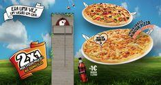 Era uma vez um Verão em casa na melhor companhia! Agora na compra de 1 Pizza média leva outra grátis! Aproveita as entregas ao domicílio são gratuitas!