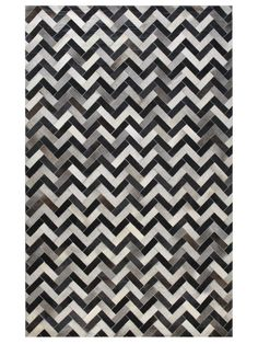 Chevron Cowhide Hand Sched Rug By Bashian Rugs At Gilt Love This