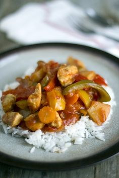 Chicken tonight! Niet uit een potje, deze maak je zelf! Recept via Brenda Kookt (klik op de foto om het recept direct te bekijken)