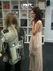 dress fitting. #avantgardedress
