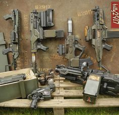 colonial marines guns by billy2917.deviantart.com on @DeviantArt