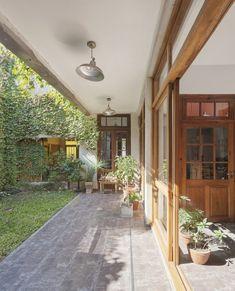 La casa, la galería, el patio vivienda recomendados arquitectura argentina ampliacion 2