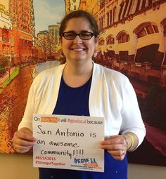 On May 5th, I will #givelocal because San Antonio is an awesome community!!!!