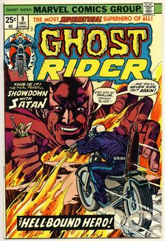 Classic+Comic+Book+Covers | Motoblogn: Classic Ghost Rider Comic Book Covers