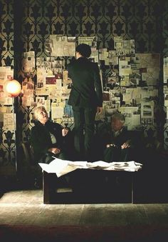 This is what the wall would look like if Sherlock ever really did have a 'time travel' case.