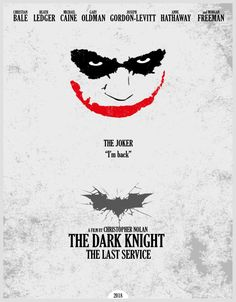 The Dark Knight: the last service