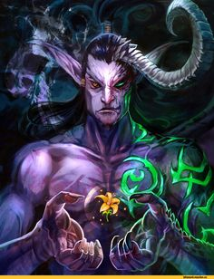 World of Warcraft Art Warcraft, World Of Warcraft 3, Warcraft Heroes, Dark Fantasy Art, World Of Fantasy, Vampires, Illidan Stormrage, Foto Top, Wow World