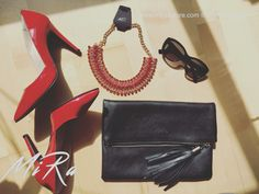 Cosmo bag and Annabelle necklace ❤️ www.mirasstore.com