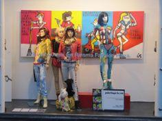 """""""paintings by us"""", pinned by Ton van der Veer"""