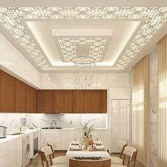 Best Ceiling Ideas That Very Recomended Drawing Room Ceiling Design, Gypsum Ceiling Design, Interior Ceiling Design, House Ceiling Design, Ceiling Design Living Room, Bedroom False Ceiling Design, Kitchen Room Design, Home Ceiling, Home Room Design