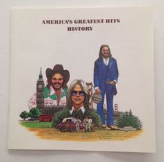 FREE SHIPPING CD: AMERICA'S GREATEST HITS BY AMERICA  (1986 WARNER BROS) #SingerSongwriterSoftRockAcousticFolkCountryRock