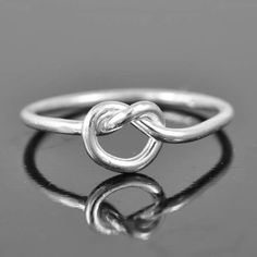 A personal favorite from my Etsy shop https://www.etsy.com/ca/listing/113699850/infinity-ring-infinity-knot-ring-best