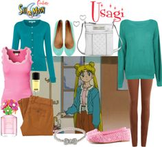 Sailor Moon-Usagi This is cute and I would it Sailor Moon Outfit, Sailor Outfits, Sailor Moon Usagi, Sailor Moon Cosplay, Disney Bound Outfits, Anime Inspired Outfits, Disney Inspired Fashion, Character Inspired Outfits, Disney Fashion