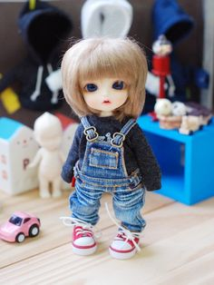 Lati yellow Pukifee Washing Overall Jeans by ttyacom on Etsy, $38.00
