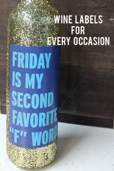 Funny wine labels to put on wine bottles for every occasion. Get a set of 4 labels for just $10! #funnygiftideas #funnygift #winelabels #christmasgift #birthdaygift #wine #winelover #friendgift #diygift Cheer Up Gifts, Gifts For Friends, Christmas Ideas, Christmas Gifts, Christmas Decorations, Funny Wine Labels, Creative Birthday Gifts, Brutally Honest, Wine Bottles