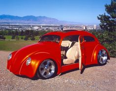 Bug 1956. OMG! I Love This! Can someone give me this car in blue? I am in love with the suicide doors!!