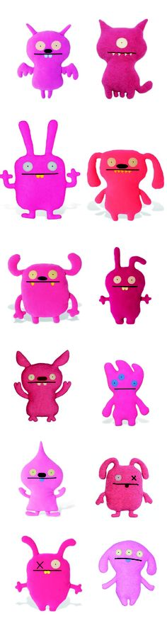 there are lots of ugly dolls