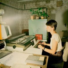 Computerarbeitsplatz Gröditz, DDR