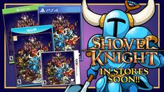 Physical Wii U and Nintendo 3DS versions of platform adventure title Shovel Knight will arrive in retailers this October, Yacht Club Games announced.