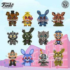 Five Nights at Freddys Mystery Minis - - Custom Funko Pop, Funko Pop Vinyl, Fnaf Baby, Avengers Pictures, Freddy 's, Funko Mystery Minis, Fnaf Characters, Cool Lego Creations, Anime Fnaf