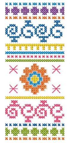 Bookmark cross stitch decoration free embroidery design - Cross stitch machine embroidery - Machine embroidery community