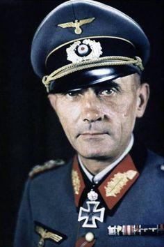 """Generalleutnant Gustav Hoehne (1893-1951), Kommandieriender General Korps """"Laux"""", Ritterkreuz 30.06.1941, Eichenlaub (238) 17.05.1943"""