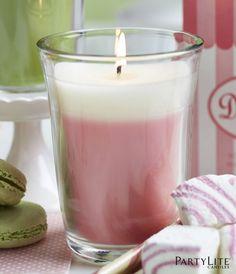 Just Desserts Vaahtokarkki & piparminttu kynttiläpurkki