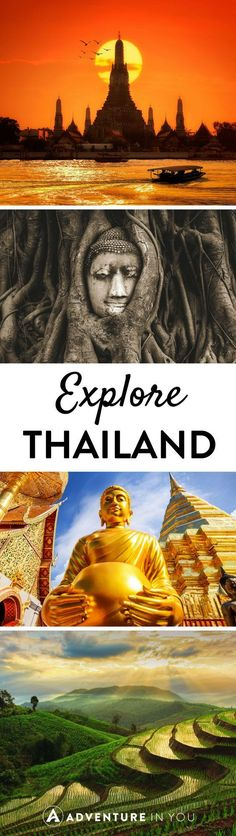 Explore the best of Thailand from it's stunning beaches, intricate temples, and beautiful landscapes.