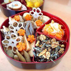 さくらんぼ's dish photo JK娘作 おせち   http://snapdish.co #SnapDish #お正月 #煮物 #保存食/常備菜 #和食